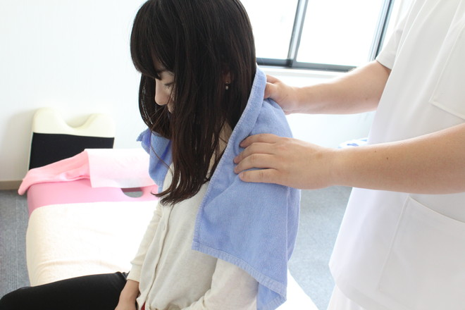 やぎ鍼灸接骨院 身体の状態を確認