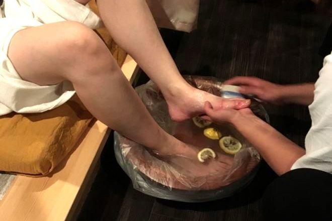 サイアムボタニクルズ京都祇園 レモンフットバス