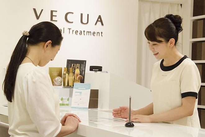 VECUA マロニエゲート銀座2店 美容のプロが親身な対応を心がけます♪