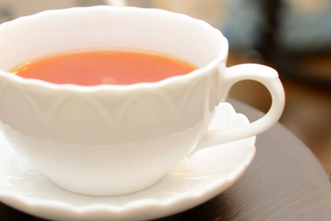 FootReset 施術後は、お茶でリフレッシュ