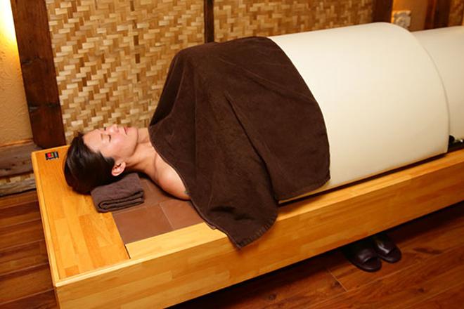 リサメディケーション 甦生石浴で細胞の一つ一つをリフレッシュ