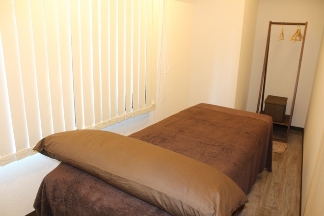 美容鍼灸サロンSky 完全個室で安心してお受けできます。