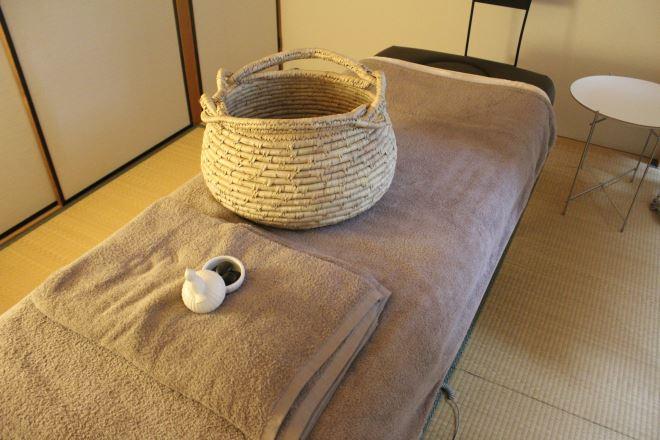 フワフワ落ち着く施術ベッド
