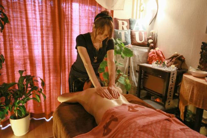 manis RATU -asian relaxation- 【お背中の施術で肩の疲れをOFF!】
