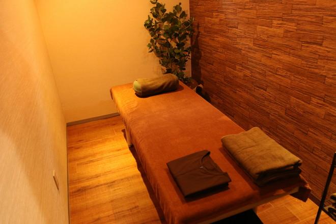 しろくま鍼灸院 施術スペースは完全個室で安心