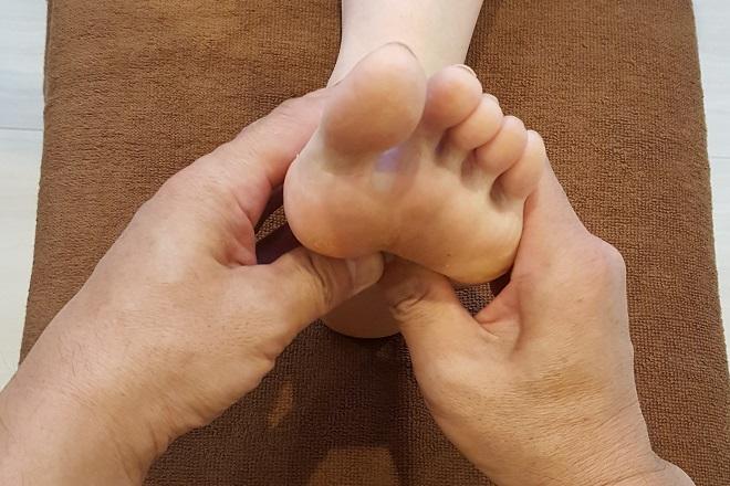 米ぬかKOSO風呂 シンデレラ 『リフレクソロジー』で刺激的な幸せで健康維持