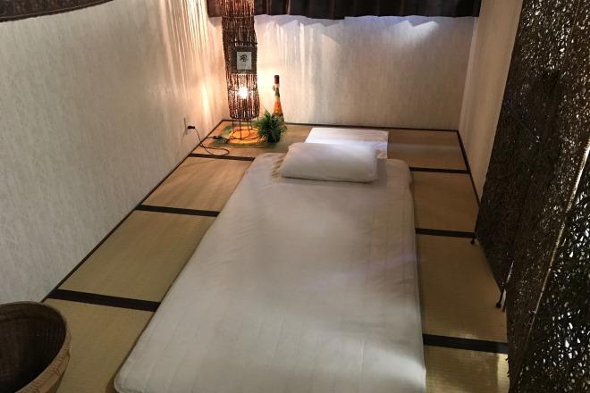 タイ古式マッサージ幸風君 施術ベッド