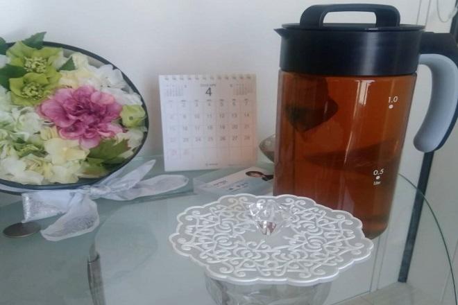 Yucarise 癒しの曲と日替わり茶、心身ともにリラックス