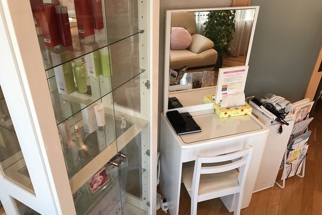 メグリカ(プライベートサロン MEGURIKA) 整理整頓された化粧台
