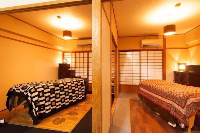 ア ラメール 完全個室の施術室が2部屋