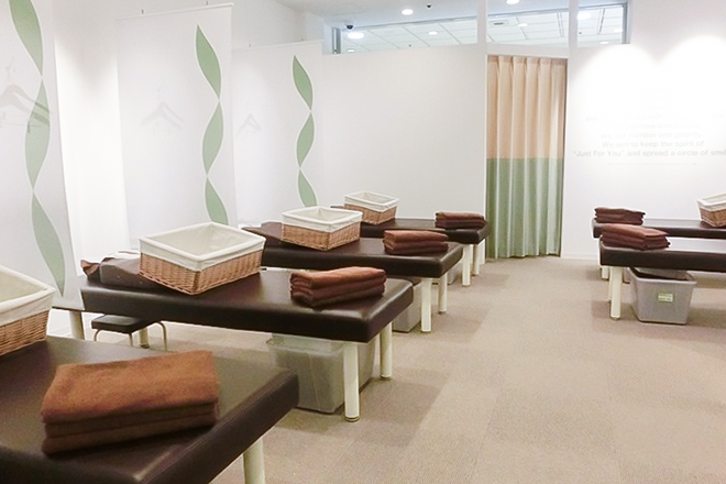Re.Ra.Ku 大宮西口店 明るく開放的なベッドです♪