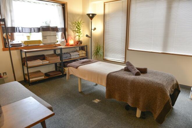 心とカラダの健康コンサルサロン 完全個室のプライベート空間でリラックス