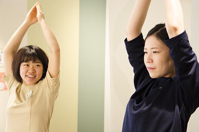 リラク 尾山台店(Re.Ra.Ku) 柔軟性チェックでお体の状態を確認