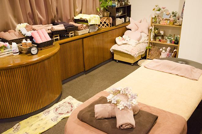 ほぐしやさん アスレチッタ蒲田店 広々とした、清潔感のある施術スペース☆