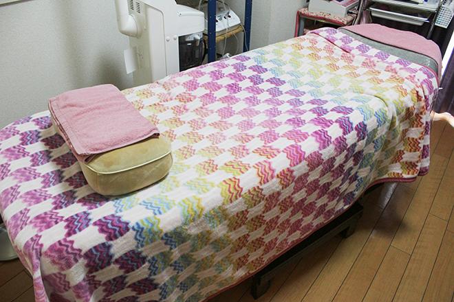 明るく元気になれるベッドです