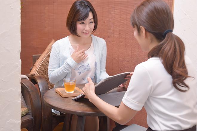 皮膚能力回復センター ピュアローズ 大阪本店 おひとりおひとりに合わせた丁寧なヒアリング♪
