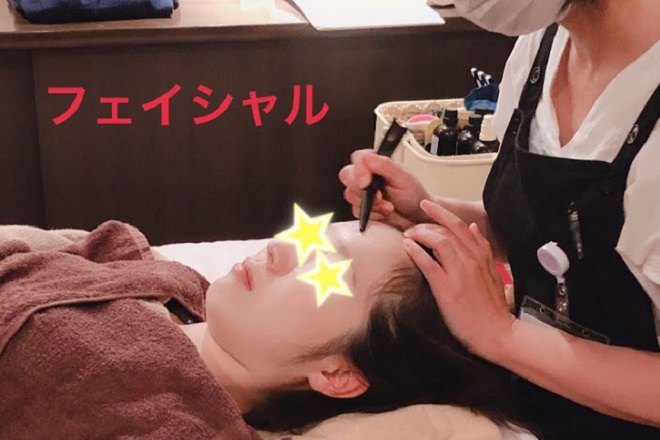 咲 -saki- 人気の経絡フェイシャル