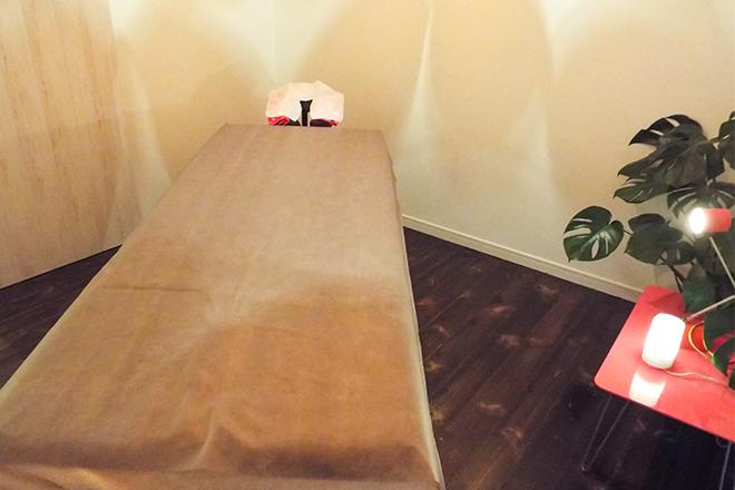 金木犀 明るく清潔な施術室は完全個室です