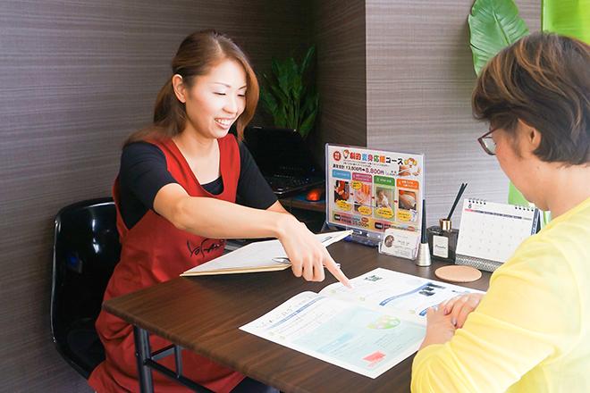 ユメ 東大阪小阪店(YOSA PARK YOUME) 丁寧なヒアリングを行っています