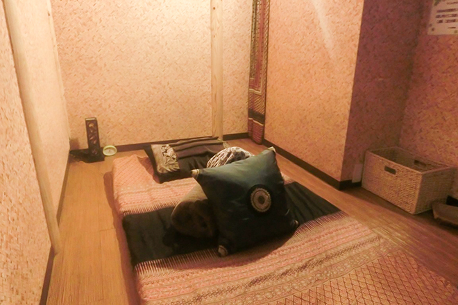 ラ イム日暮里店 完全個室の南国リゾート空間