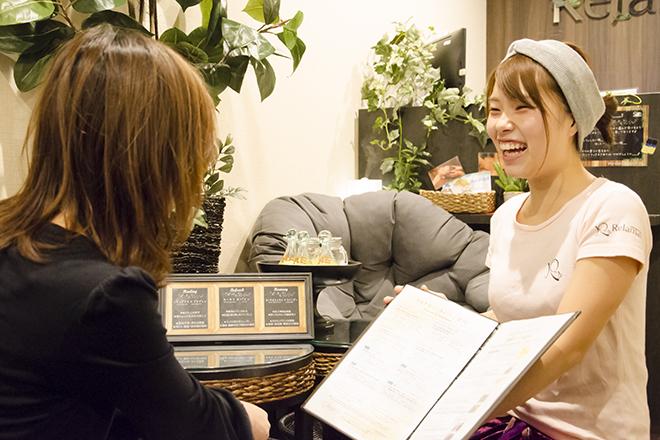 リラマックス 軽井沢店 シートに記入して、まずはお話ください☆