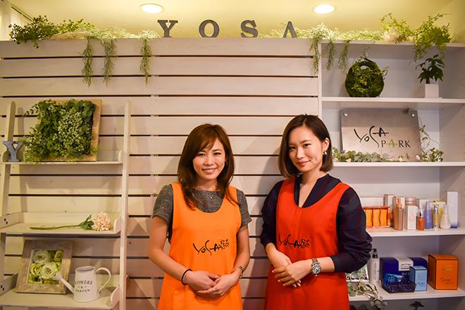 YOSA PARK Beauty plus 赤羽 店内はハワイのリゾートのような空間です♪
