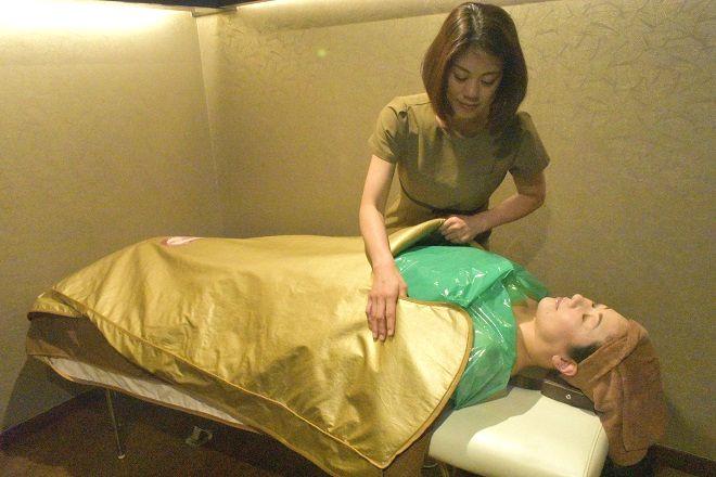 ベリル 施術前にお体を温めます♪