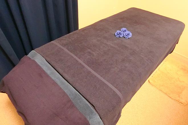 ココ(salon koko) ふかふかのタオルが肌に心地よいベッド