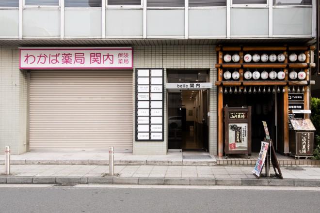 ホットスリムスタジオジャパン 関内店 関内駅から徒歩3分の立地にございます!