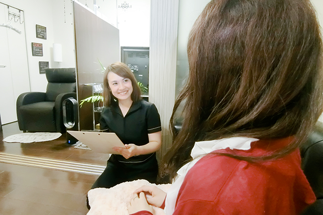Attr Active Beauty お客様に合った施術を提供