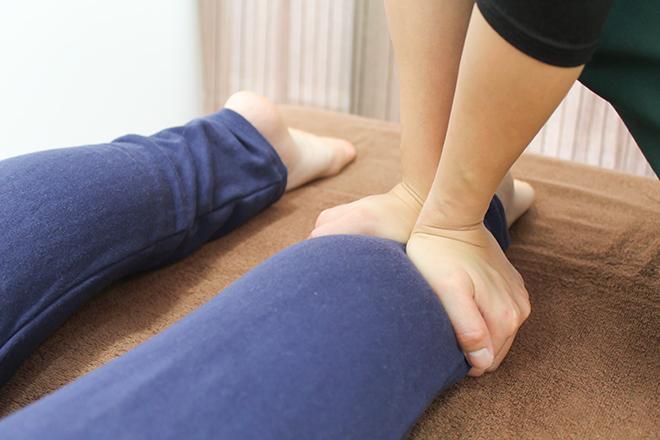 プラスニコ(心と体に優しい整体 +nico) 脚の先までしっかり施術をしていきます