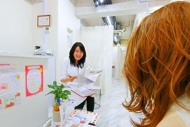 ディオーネ 神戸元町トアロード店(Dione) まずは、お客様のお肌の状態を知っていきます