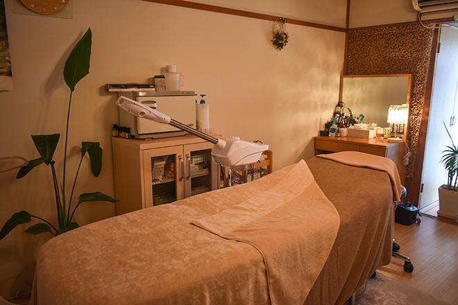 カリン(esthetic salon Karin) 落ち着ける施術ベッド