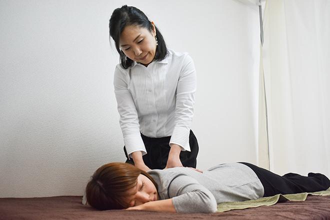cosuzu salon 目黒 肩のマッサージ
