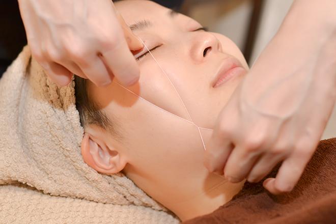 オリーヴ(エステティックサロン OLIVE) お顔の透明感を上げたい方は糸脱毛に注目です