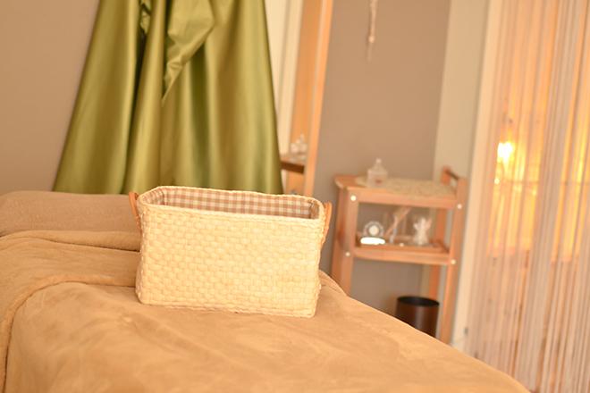 オリーヴ(エステティックサロン OLIVE) 丈夫な造りのベッドをご用意しています