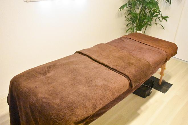 ラ グラシアス(La Gracias 美筋膜 大阪サロン) 清潔感のある気持ちの良い施術台