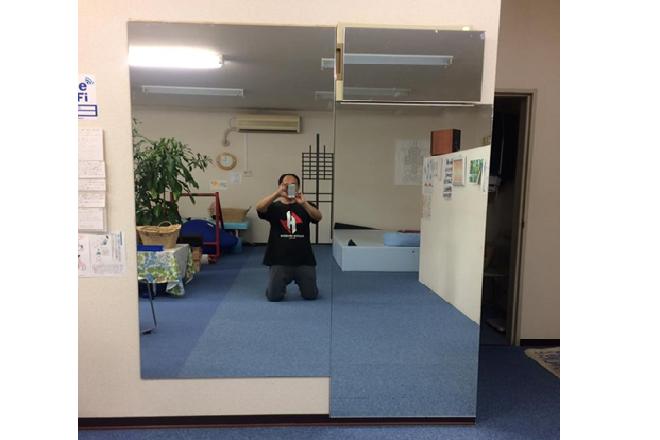 R.Door 整体院 大きな鏡で動作チェック!!!