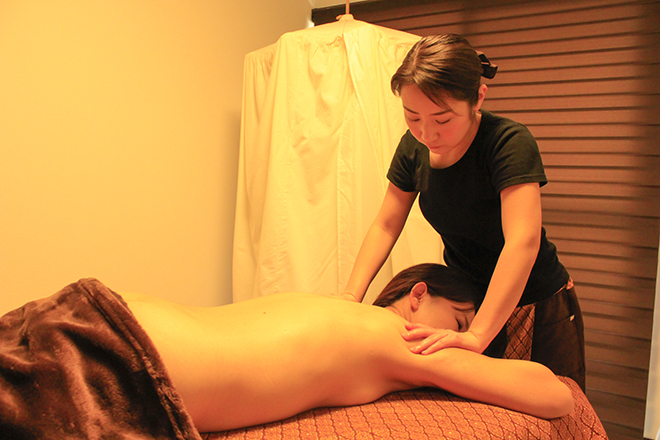 yachai spa アロマの香りに癒される、人気のメニュー