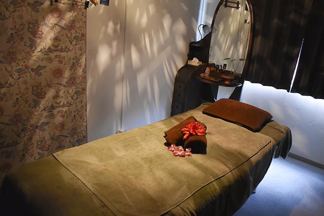 シールドゥ リラックスできる施術ベッドをご用意しています