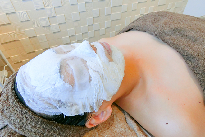 カグラ(Facial Salon KAGURA) パラオパックで透明感のあるみずみずしいお肌へ