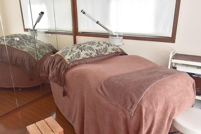 ミリーラボーテ 自由が丘本店 程よい反発のベッドを3台ご用意しております