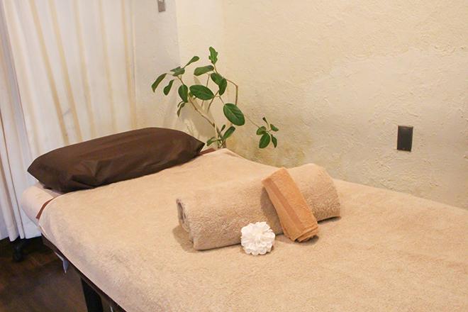 Healing Salon mite 心地良いベッドは3台。貸し切りの対応も可能です