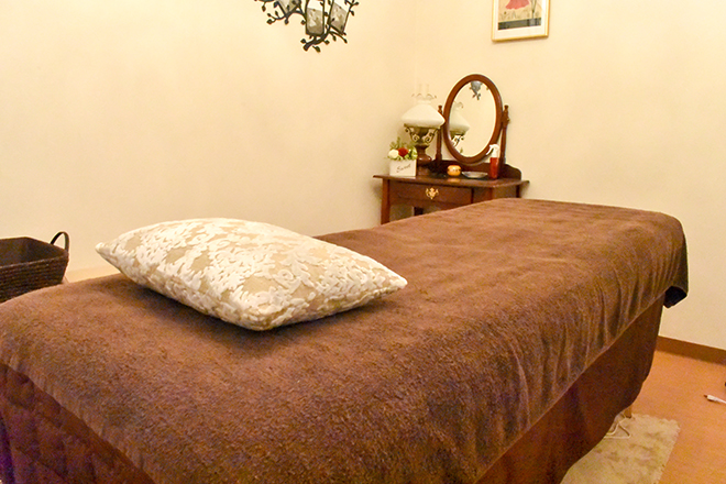 La-blanche 施術は落ち着きのある個室で受けられます