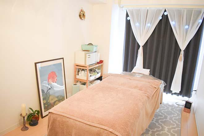 ララ ムー(プライベートサロン lala mou) 寝心地の良い広々としたベッド♪