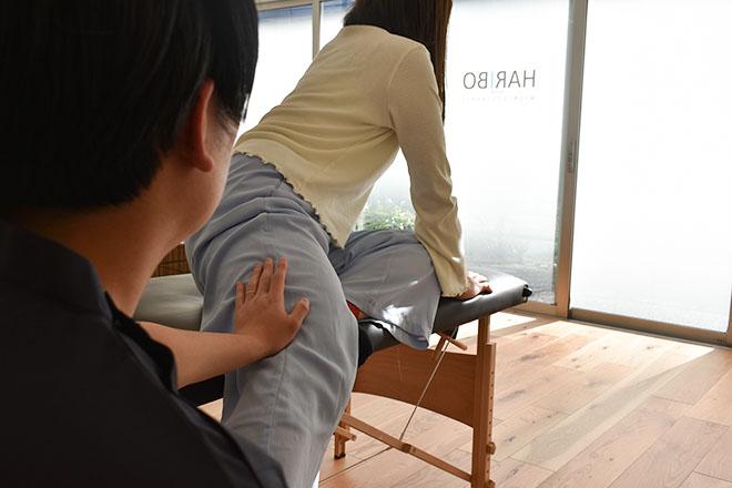 ハリボ(整体院 HARIBO) 「腰痛改善コース30分」が人気のメニューです