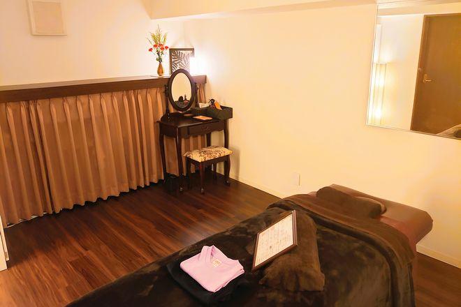 パルム(Private salon Palm) 茶色を基調とした、ぬくもりを感じられる空間