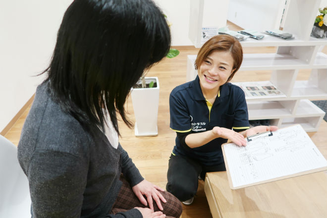 足のトラブルセンター 新札幌店 ヒアリングは無料なので相談だけでもお気軽に♪