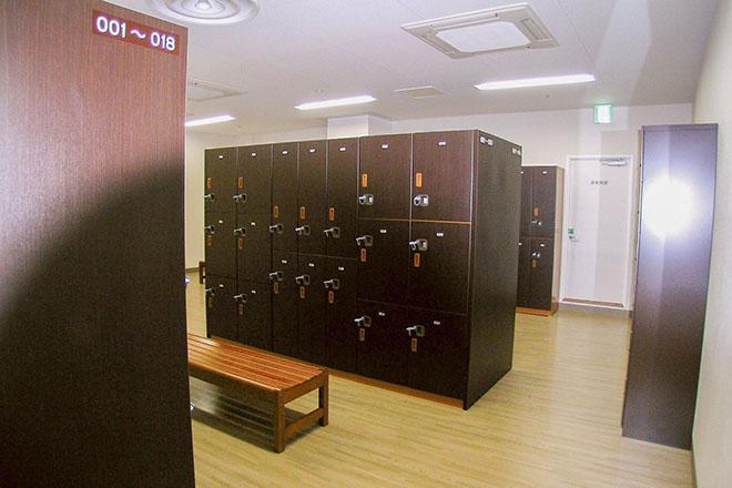 イオンスポーツクラブ 浜松西店 充実のロッカールーム
