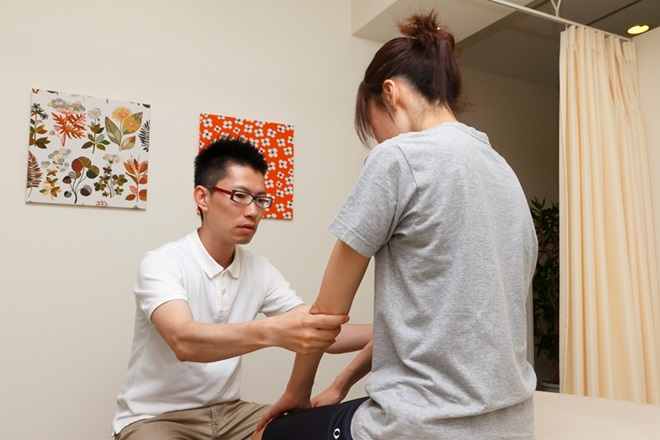バランスラボ(BALANCE LAB) 腕の状態をチェック